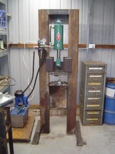 Homemade Hydraulic Press Homemadetools Net