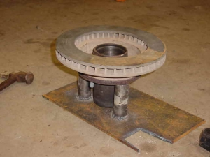 Wheel Stud Press