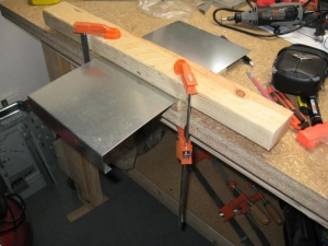 Homemade Sheetmetal Brake Homemadetools Net