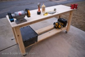 Pine Workbench