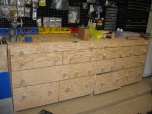 Workbench Cabinet System