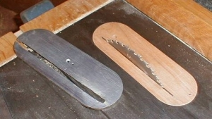 Table Saw Throat Plate Insert
