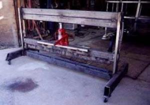 Homemade Sheetmetal Press Brake Homemadetools Net