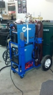 Dual-Shelf Welding Cart