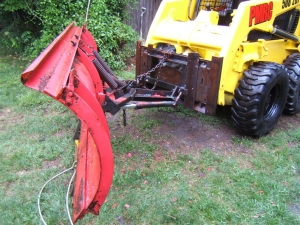 Homemade Quick-Attach Plow Mount - HomemadeTools net