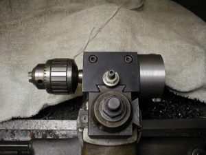 Machined QCTP Drill Backup