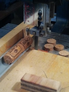 Cork Cutting Jig