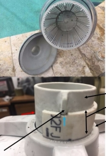 Pool Filter Modification