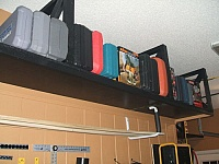 Ceiling-Mounted Tool Storage