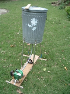 Wildflower Seed Thresher