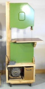 "18"" Wooden Bandsaw"
