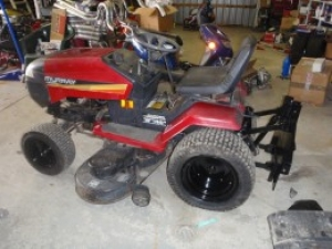 Hydraulic Lift Attachment for Lawnmower