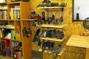 Wall-Mounted Equipment Shelf