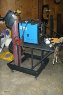 Homemade MIG/TIG Welding Cart