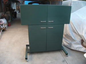 Tool and Supply Cabinet
