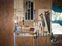 Woodworking Tools Storage