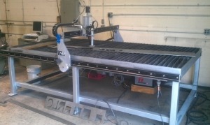 Homemade CNC Plasma Water Table