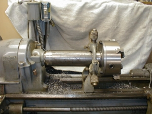 Lateral Bore Lathe