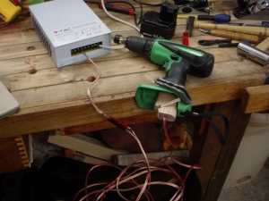 Cordless to Corded Drill Modification
