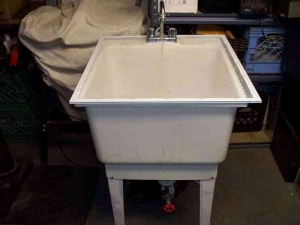 Part Washing Utility Tub