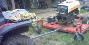 Homemade Trail Mower - HomemadeTools net