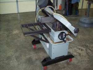 Horizontal Bandsaw Modifications
