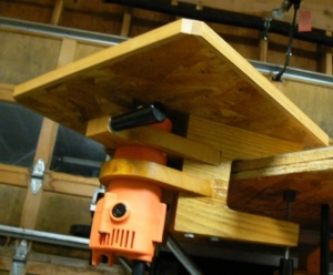 Clamp-On Router Table