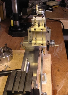 Homemade Taig Compound Slide Milling Attachment