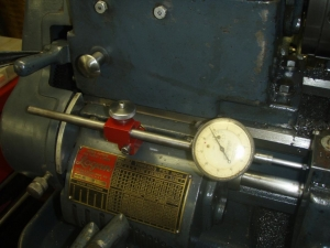 Lathe Carriage Dial Indicator Mount