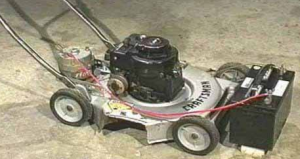 Homemade Portable Gas-Powered Generator