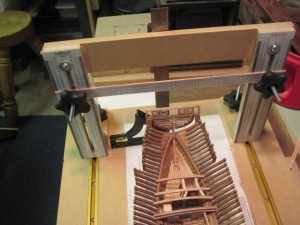 Homemade Model Ship Building Board - HomemadeTools net