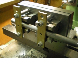 Lathe Cross Drilling Fixture
