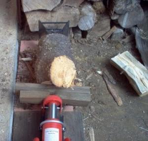 Homemade Log Splitter Homemadetools Net