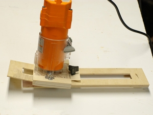 Router Dishing Jig