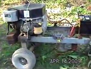 how to make a welder from an alternator