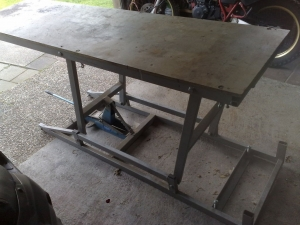 Homemade Motorcycle Lift Table Homemadetools Net