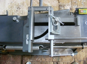 Bandsaw Vise Modification