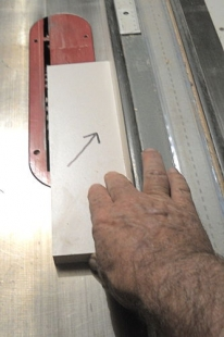 Table Saw Safety Technique