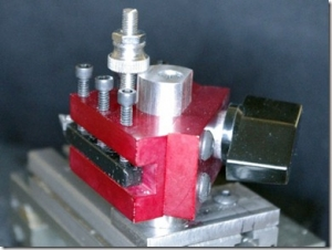 Taig Lathe Quick Change Tool Post