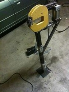 Pneumatic Actuator for Shrinker/Stretcher