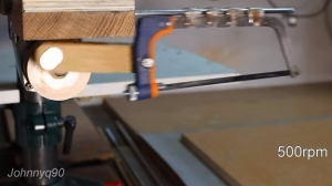 Drill Press Hacksaw