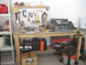 Inexpensive Workbench