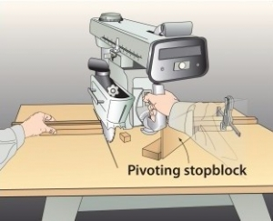 Radial Arm Saw Stop