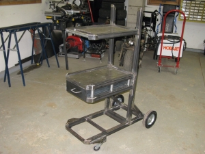 Homemade Welding Cart and Toolbox