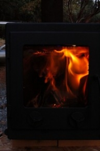 Secondary Combustion Wood Stove