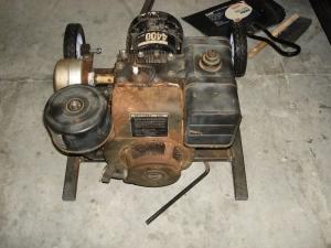 Homemade Generator Frame