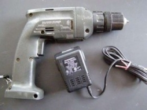 Conversion of Battery-Powered Drill to Wall Power