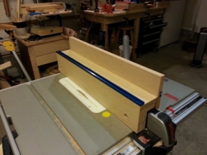 Auxiliary Table Saw Fence