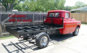 Homemade Flatbed For 59 1 Ton Chevy Homemadetools Net