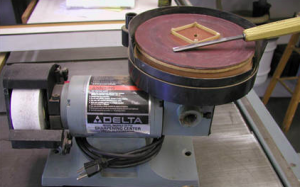 Leather Strop for Delta Sharpening Center
